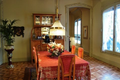 カサミラの食堂