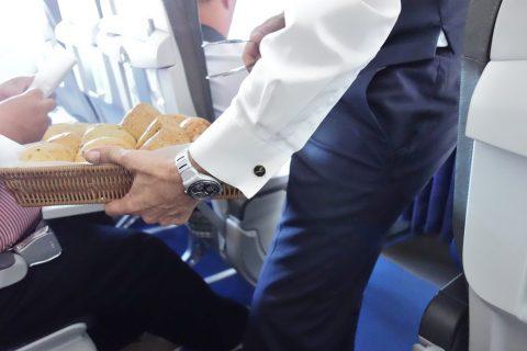ルフトハンザビジネスクラス機内食のパン