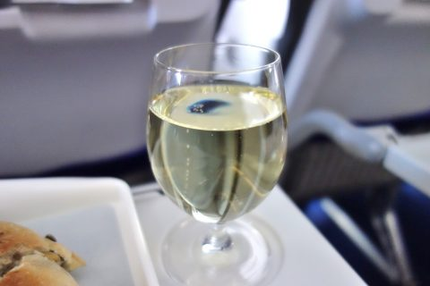 lufthansa-businessclass/シャンパン