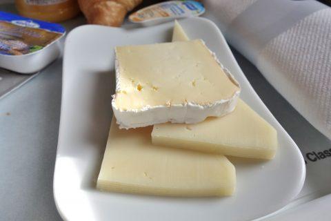 チーズ/ルフトハンザ航空ビジネスクラス機内食