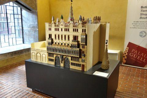グエル邸の模型