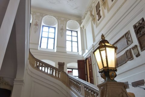 prunksaal-wien/エントランスの階段
