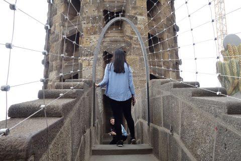 sagrada-familia/タワーの展望所