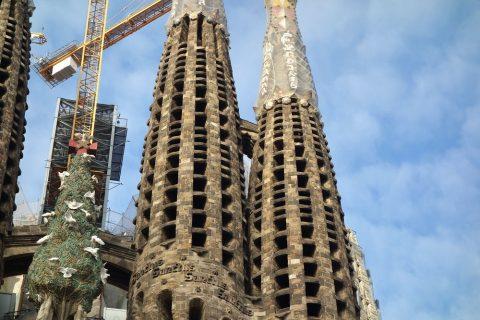 サグラダファミリアのタワー