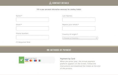 sagrada-familia-ticket決済クレジットカード