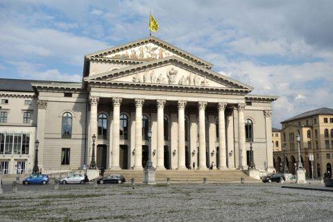 バイエルン国立歌劇場のファサード