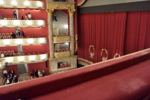 Bayerische-Staatsoper/バルコニー席からの眺望