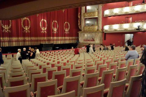 Bayerische-Staatsoper/平土間の座席