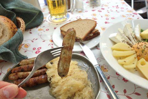 Bratwurstherzl-munich/ソーセージの味
