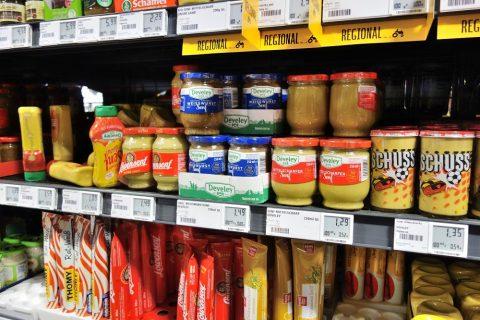 ミュンヘンのスーパー