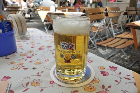 Bratwurstherzl-munich/ラガービール