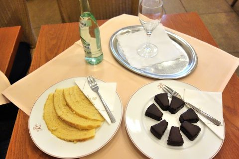 Cafe-Kreutzkamm/2種類のバウムクーヘン