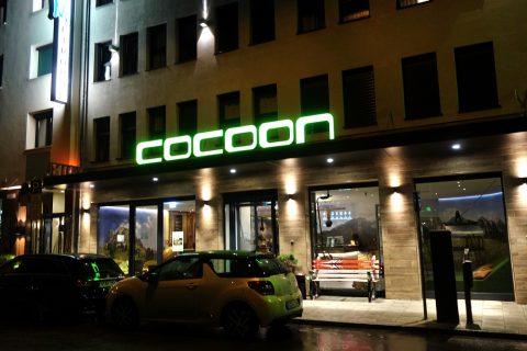 Cocoon-Hauptbahnhof/ホテルの夜