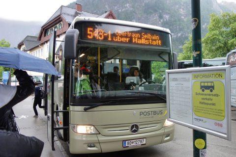 Krippenstein-access/バス