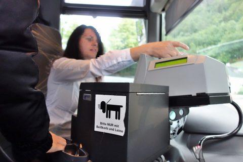 Krippenstein-access/バスの運転手