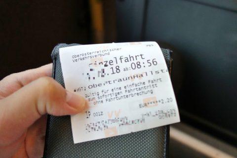 Krippenstein-access/バスのチケット