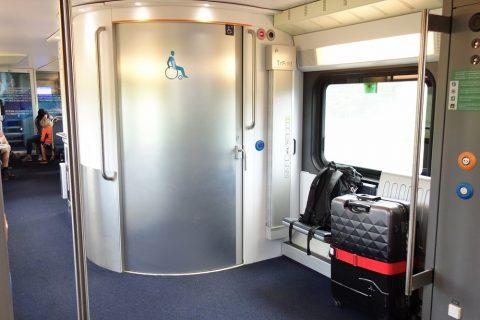 WESTbahn大型トイレ