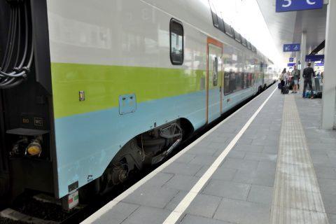 attnang-puchheim駅ホーム
