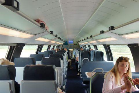 WESTbahn2階席