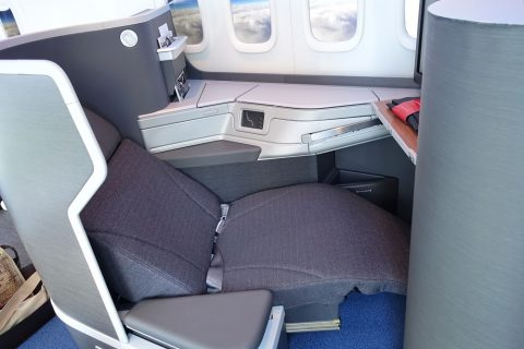 american-airlines-businessclass-seat/リラックスポジション