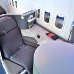 アメリカン航空ビジネスクラス/ヘリンボーンシートを体験!
