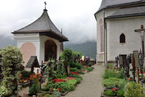 ハルシュタットの墓地