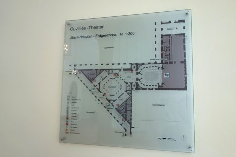 cuvillies-theatre-munich/フロアマップ