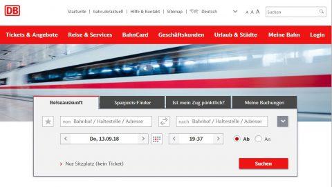 ドイツ鉄道HP