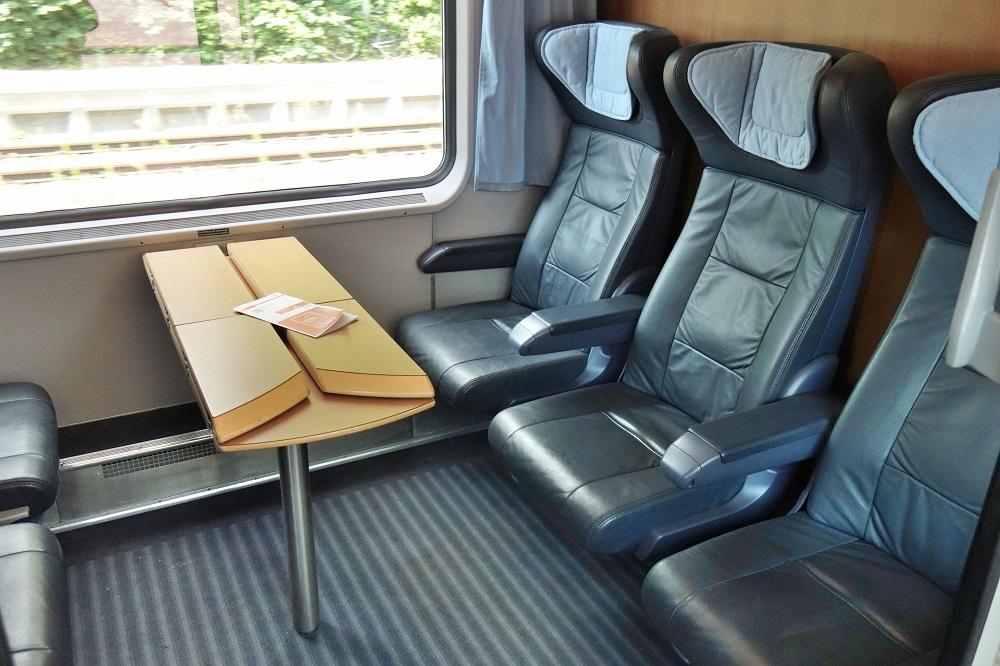 ユーロシティEC乗車記!【1等車】シートとお得なチケット予約 ...
