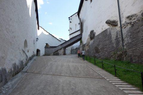 ザルツブルク城内