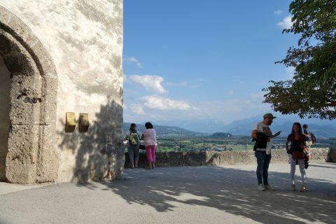 ザルツブルク城の展望台