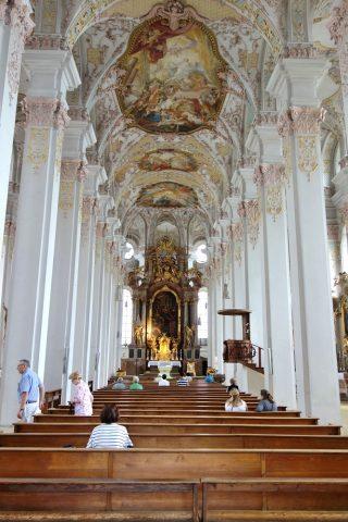 ハイリッヒガイスト教会の内部