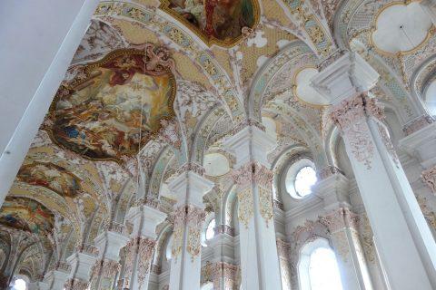ハイリッヒガイスト教会のフレスコ画