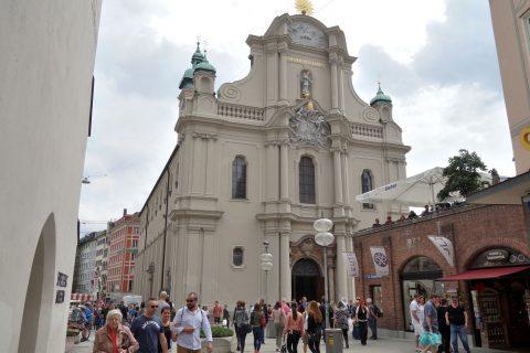 ハイリッヒガイスト教会の外観