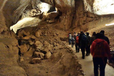 mammut-cave/長さ