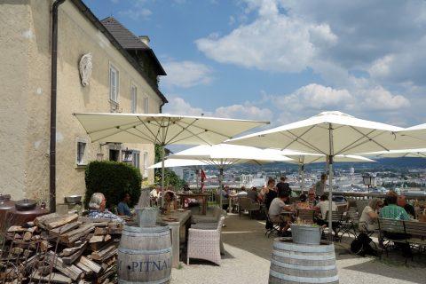 monchsberg-salzburg/眺めの良いカフェ