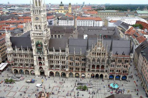 ミュンヘン旧市庁舎の全景
