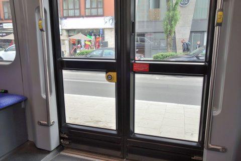 ミュンヘントラムのドア