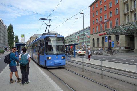 ミュンヘンのトラムの乗り方