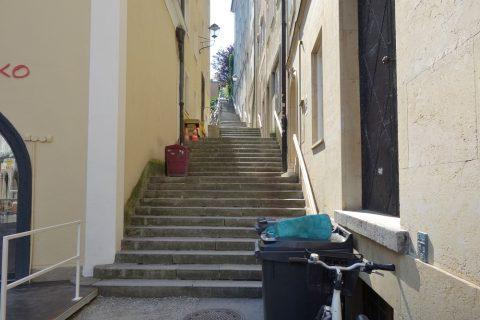 ザルツブルクの階段