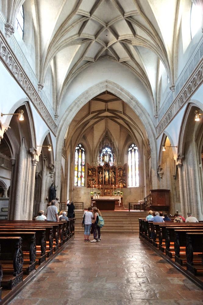 ノンベルク修道院の教会