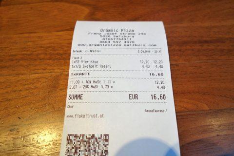 organic-pizza-salzburg/レシート