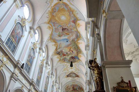 ペーター教会のフレスコ画
