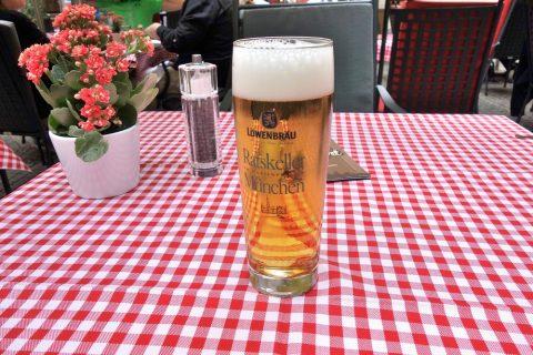 ratskeller-munchen/レーベンブロイビール