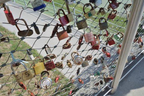 ザルツブルクの南京錠