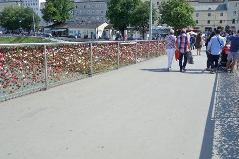 マカルト橋の南京錠
