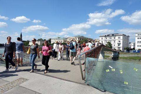 ザルツブルクのマカルト橋