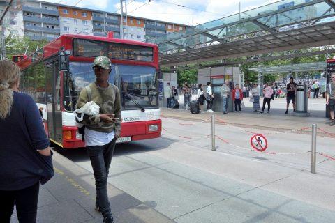 ザルツブルクのトロリーバスの乗り方