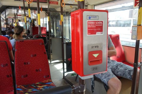 salzburg-bus/打刻機