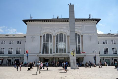 ザルツブルク中央駅